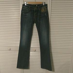 Vigoss Juniors/Missy New York Boot Cut Jeans